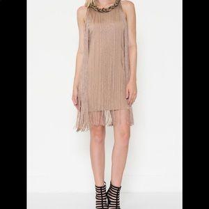 Esley Fringed Dress